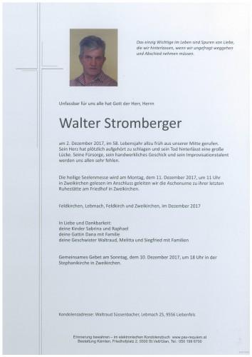 Walter Stromberger