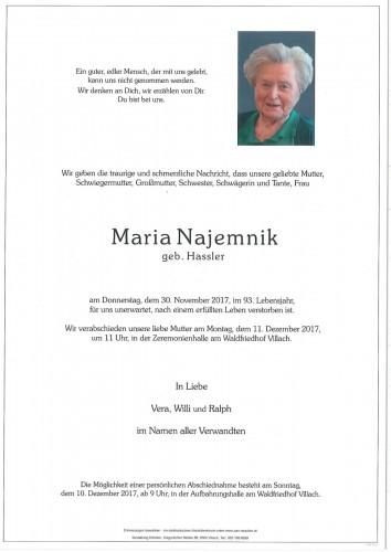 Maria Najemnik