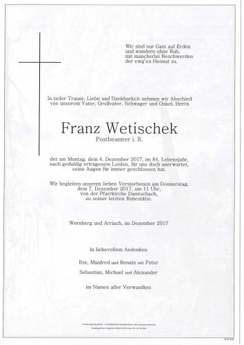 Franz Wetischek