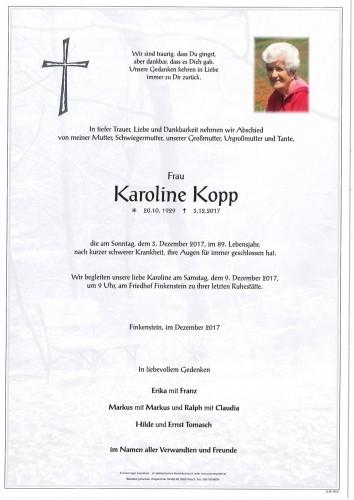 Karoline Kopp