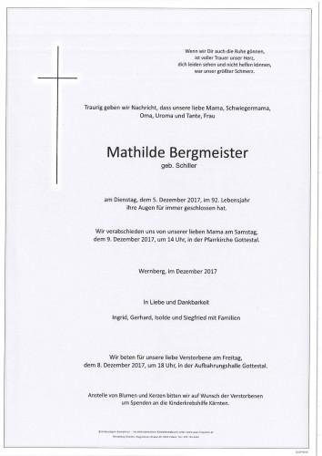 Mathilde Bergmeister