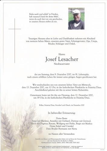 Josef Lesacher