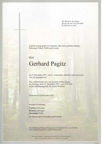 Gerhard Pagitz