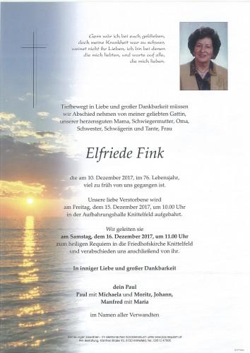 Elfriede Fink