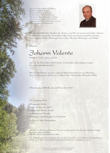Johann Valente