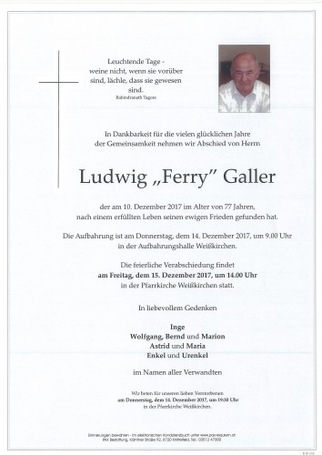 Ludwig Galler