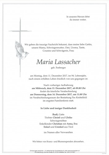 Maria Lassacher