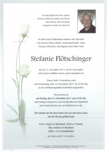 Stefanie Flötschinger