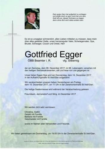 Gottfried Egger vlg. Silbernig