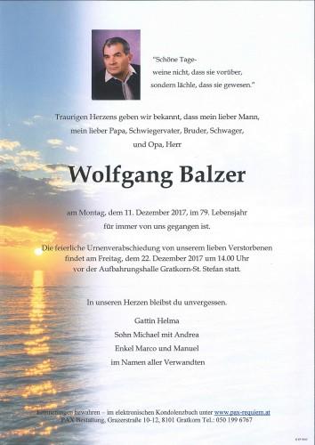 Wolfgang Balzer