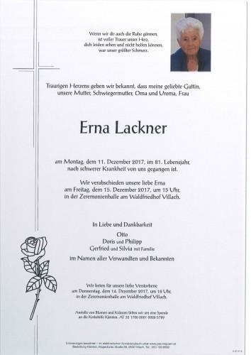 Erna Lackner