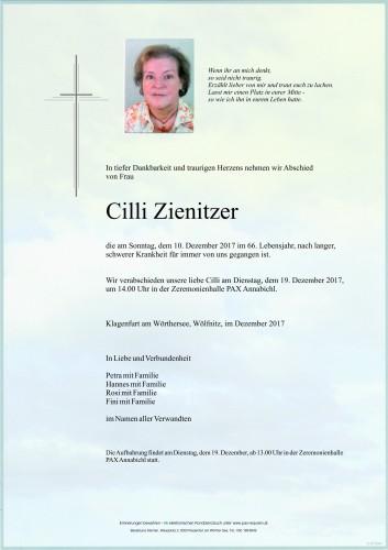 Cilli Zienitzer