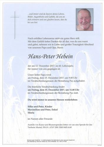 Hans-Peter Hebein