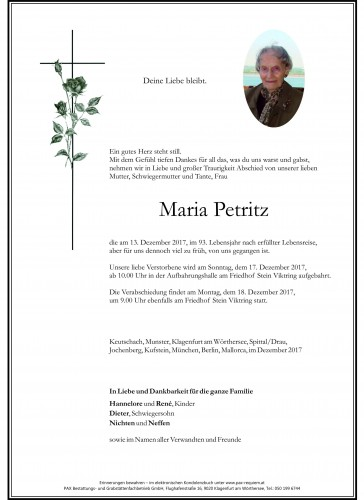 Maria Petritz