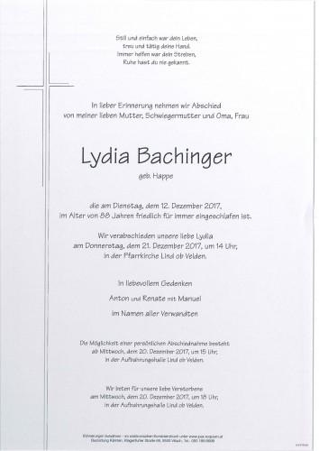 Lydia Bachinger