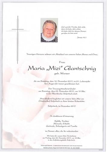 Maria Glantschnig geb. Wurzer