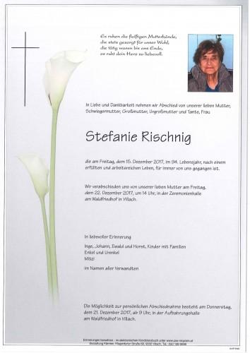Stefanie Rischnig