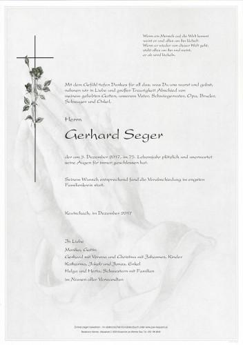 Gerhard Seger