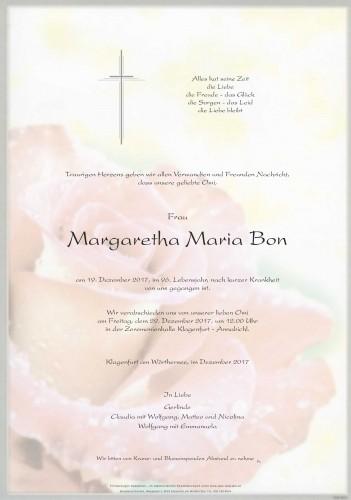 Margaretha Maria Bon