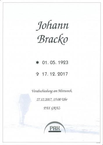 Johann Bracko