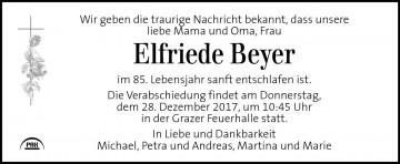 Elfriede Beyer