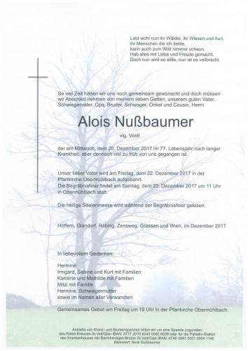 Alois Nußbaumer