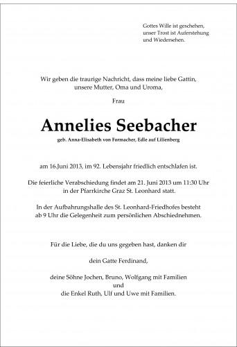 Anna Elisabeth Seebacher