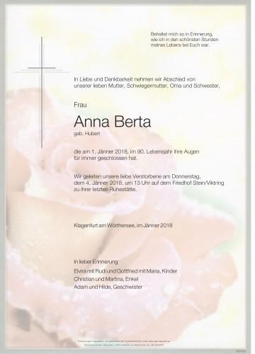 Anna Berta