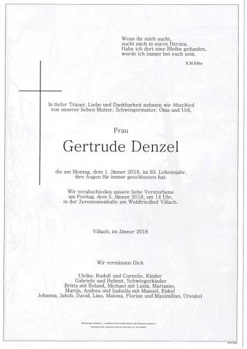 Gertrude Denzel