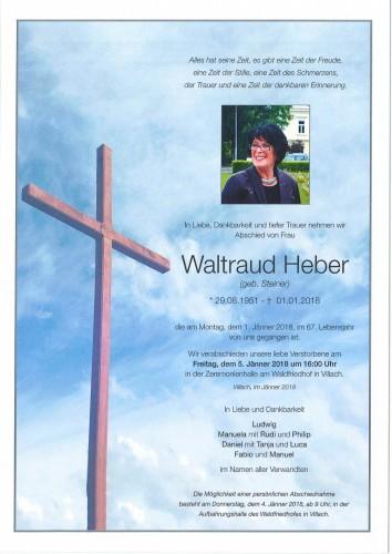 Waltraud Heber