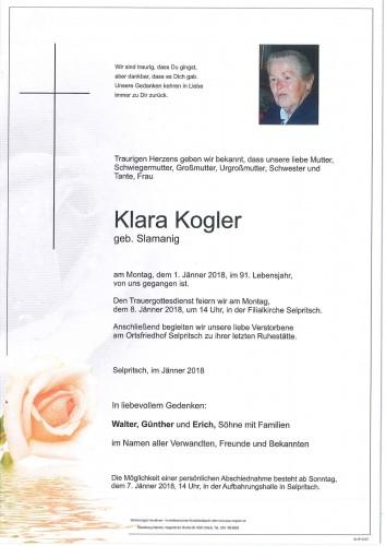 Klara Kogler