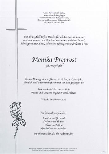 Monika Preprost