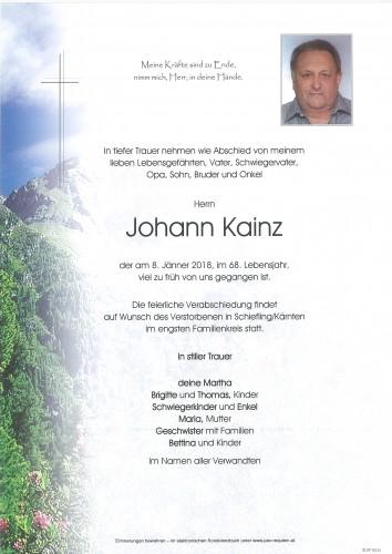 Johann Kainz