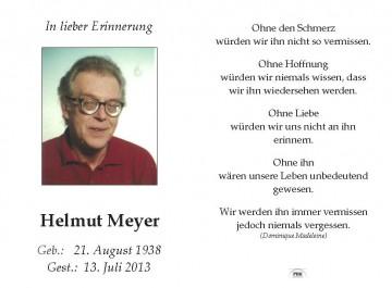 Helmut Meyer