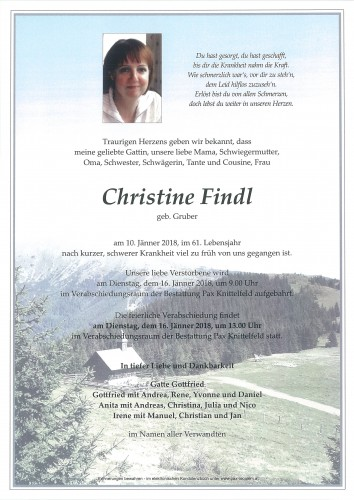 Christine Findl