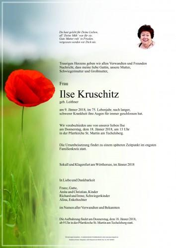 Ilse Kruschitz