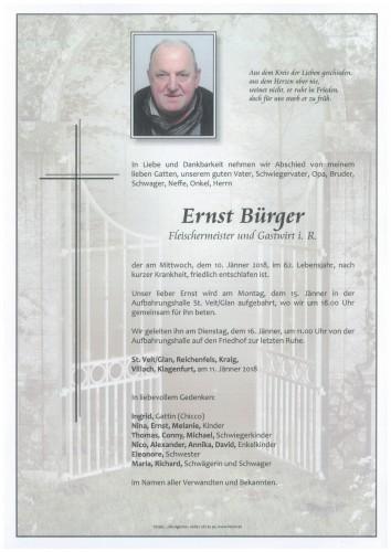 Ernst Bürger