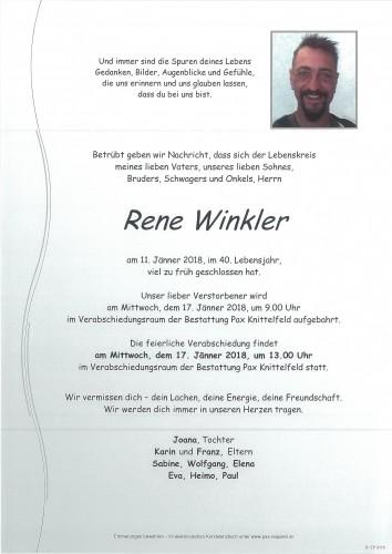 Rene Winkler