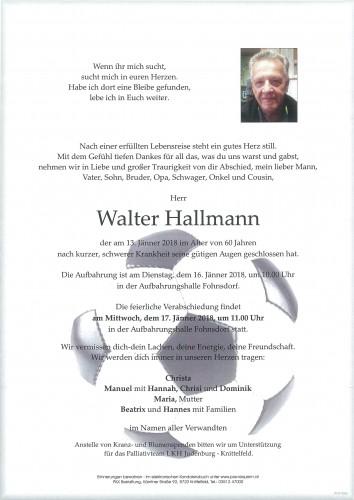 Walter Hallmann