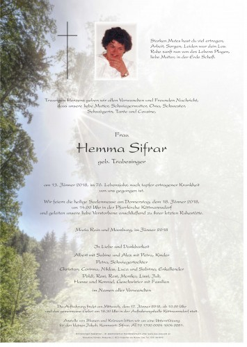 Hemma Sifrar