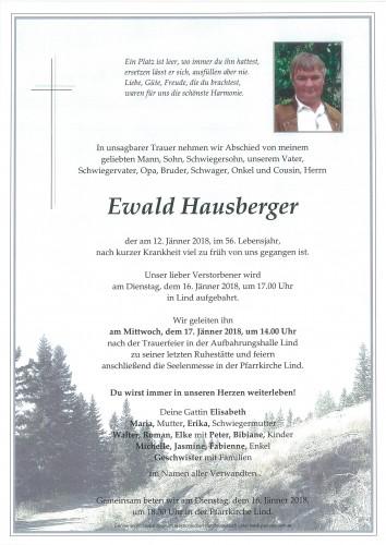 Ewald Hausberger