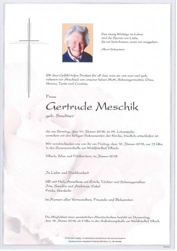 Gertrude Meschik