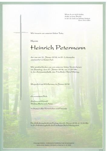 Heinrich Petermann