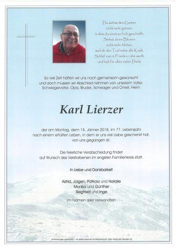 Karl Lierzer
