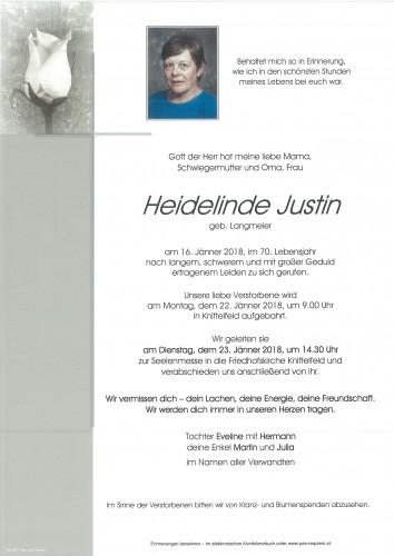 Heidelinde Justin