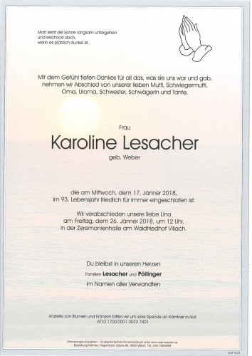 Karoline Lesacher