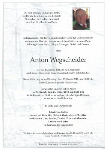 Anton Wegscheider