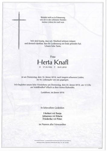 Herta Knafl