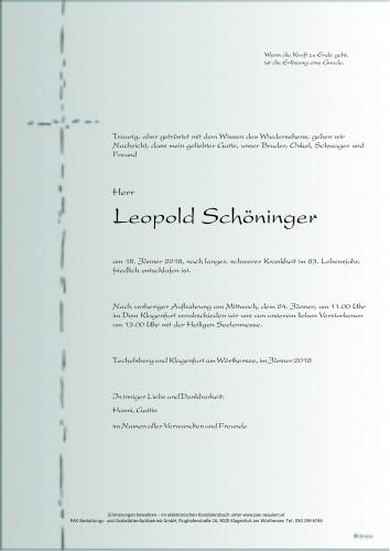 Leopold Schöninger