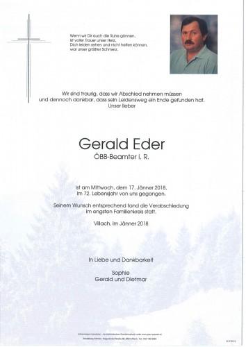 Gerald Eder
